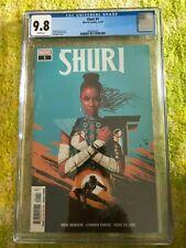 SHURI #1 CGC 9.8 WHITE BLACK PANTHER