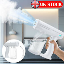 More details for uk handheld usb nano sanitizer sprayer cordless disinfectant fogger gun machine