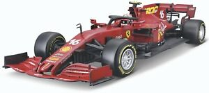 Bburago BU16808LTU 1/18 2020 Ferrari SF1000 Tuscany 1000th GP Charles Leclerc