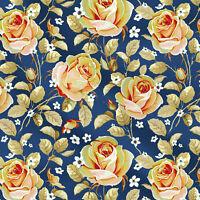 Baumwolle Blumendruck Handwerk Hauptbehandlung 44''Inch Breite verkauft  1 Yard