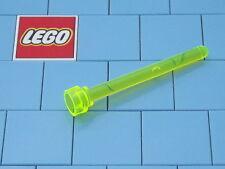 Lego 3957 1x4 Antenna Trans Neon Green X 2 NEW