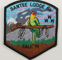 OA Lodge 116 Santee eX1991-6, Fdl; Fall Fellowship [D1756]