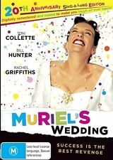 Muriel's Wedding - 20th Anniversary Edition (DVD, 2016) Brand New & Sealed R4