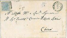 ITALIA REGNO: Annullo Numerale 750: CASTELLEONE 1857