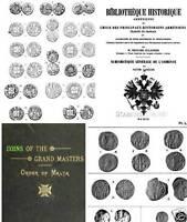 230 Bücher Münzen von Byzanz Ostrom Kreuzrittern Malta christlichen Ostens DVD