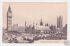 The Houses Of Parliament , Photo Postcard circa 1900
