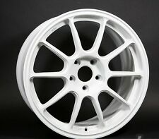 Rota SS10R 17X9 +25 WHITE 5X114.3 Rim Fit Rsx Tsx Xb Altima Maxima 350Z 370Z G35