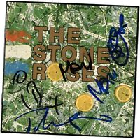 THE STONE ROSES Signed CD Full bands Autographs AFTAL OnlineCOA