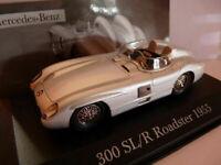 MER2E voiture 1/43 ixo altaya MERCEDES : 300 SL/R Roadster 1955