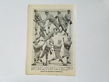 Dodgers 1921 Team Picture Zack Wheat Hal Janvrin Clarence Mitchell Leon Cadore