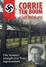 NEW Sealed Christian Documentary DVD! Corrie ten Boom: A Faith Undefeated
