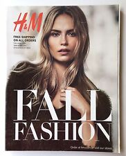 H&M FALL FASHION 2014 CATALOG NATASHA POLY LIU WEN LIYA KEBEDE