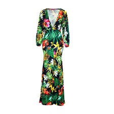 FLORAL PRINT LYCRA GOWN/PAGEANT DRESS/COSTUME/DRAG QUEEN/Plus 16-24 (Maybe 26)