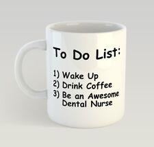 Dental Nurse To Do List Funny Mug Gift Novelty Humour Birthday Dentist
