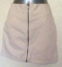 H&M Cotton Patternless Skirts for Women