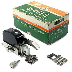 Vtg SINGER Zig Zag Attachment 160620 ZigZagger Featherweight 221 222 201 66 99