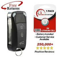 2 Pack FikeyPro Keyless Entry Remote Car Key Fob Transmitter for Porsche 4-Button KR55WK50138