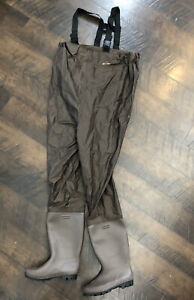 Red Head Bone Dry Chest Waders Men's Size 10 Neoprene Thinsulate Soles