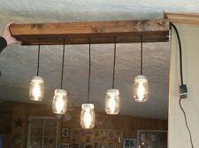 Mason Jar Light Fixture Pendent