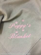 Personalised Dog Blanket - Pet Blanket