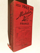 Guide MICHELIN - FRANCE 1962 - B