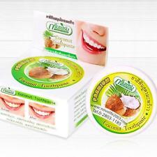 sbiancante Denti Polvere Attivato Cocco sbiancante Anti Batteri Dentifricio PI