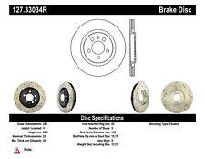 StopTech Front Right Disc Brake Rotor for 92-95 Volkswagen Corrado Passat Jetta
