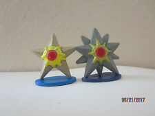 Lot of Pokemon Tomy Figures Staryu and Starmie