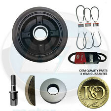 For Chalenger Shogun sport 2.5 TD 4D56 crank shaft pulley belts bolt kit