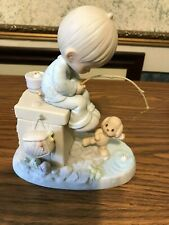 New Listing2 Precious Moments Figurines; 1988 Just A Line To Wish You A Happy Day; 1978 J