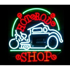 Hot Rod Shop Neon Bar Sign