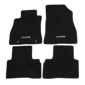 OEM 2011-2017 Nissan Juke 4 Piece Black Carpeted Floor Mats NEW 999E2-6X000