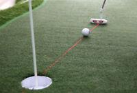 PGM Golf Putter Laser Sight Improvement Practice Golf Training 11cm