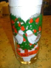 12 Twelve Days of Christmas Drinking Glass #2 Two Turtle Doves Replacement