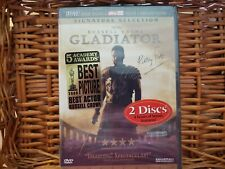 Gladiator Widescreen Dvd Signature Selection Russell Crowe New Sealed Bonus