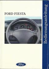 FORD FIESTA 3 Betriebsanleitung 1994 Bedienungsanleitung Handbuch Bordbuch BA