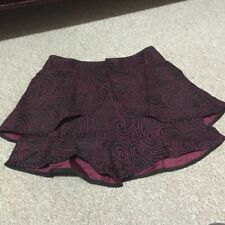 Mid-Rise Multi-Colored Regular Size Shorts for Women