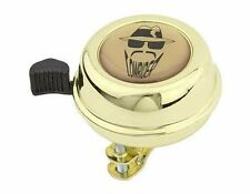 Bicycle Bell Lowrider Bicycle Bell Gold w/ Logo (109642)