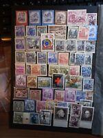 Österreich Austria Lot Stamps Konvolut Sellos Timbres Briefmarken
