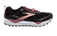 Brooks Cascadia 15 Womens Trail Running Shoes - Black/Ebony/Coral Cloud - 8 Wide