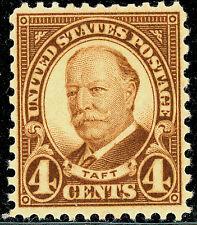 US Scott #685 William Taft 4¢ Brown Perf. 11X10 1/2 MNH***FREE SHIP****