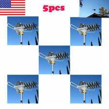 5X 180Mile HDTV 1080p Outdoor Amplified HD TV Antenna Digital UHF/VHF FM Radio V