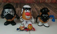 Lot Of Mr. Potato Heads Star Wars Super Heroes