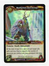 Wow World of Warcraft Malfurion Stormrage Foil 177/220 Elements Promo Mint