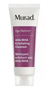 Murad Age Reform AHA/BHA Exfoliating Cleanser Face Wash 30ml: Travel Size