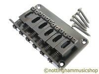 Electric guitar hardtail bridge black top loading or through body hard tail 75mm