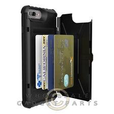 UAG - Apple iPhone 7 Plus/6S Plus Trooper Case - Black/Black Shell Guard Bumper