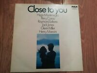 V/A * CLOSE TO YOU * VINYL LP EX/EX MONTENEGRO / COMO / MANCINI / MILLER / JONES