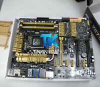 Motherboard for ASUS Z87 DELUXE DUAL LGA 1150 USB 3.0 SATA  ATX DDR3 Intel