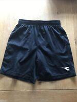 Diadora Black Football Shorts Size Large